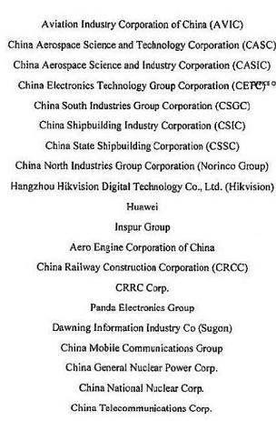 """美国涉及中国企业的""""军单""""到底有几份?"""